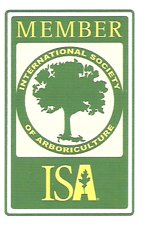 Member of International Soceity of Arboriculture and ISA Certified Arborist